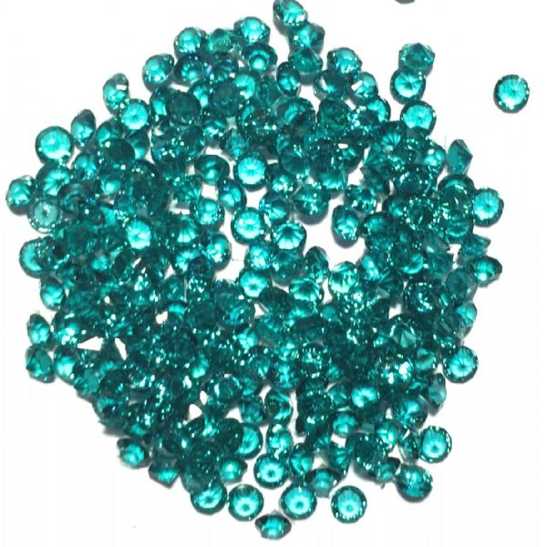 Resin sparkling crystals - 3mm - TEAL